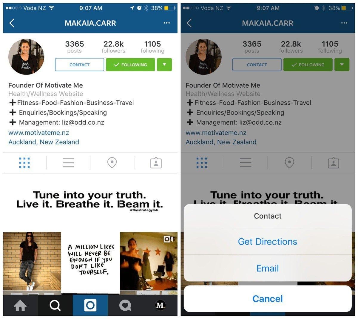 Сеть Instagram тестирует обновленный интерфейс бизнес-аккаунтов