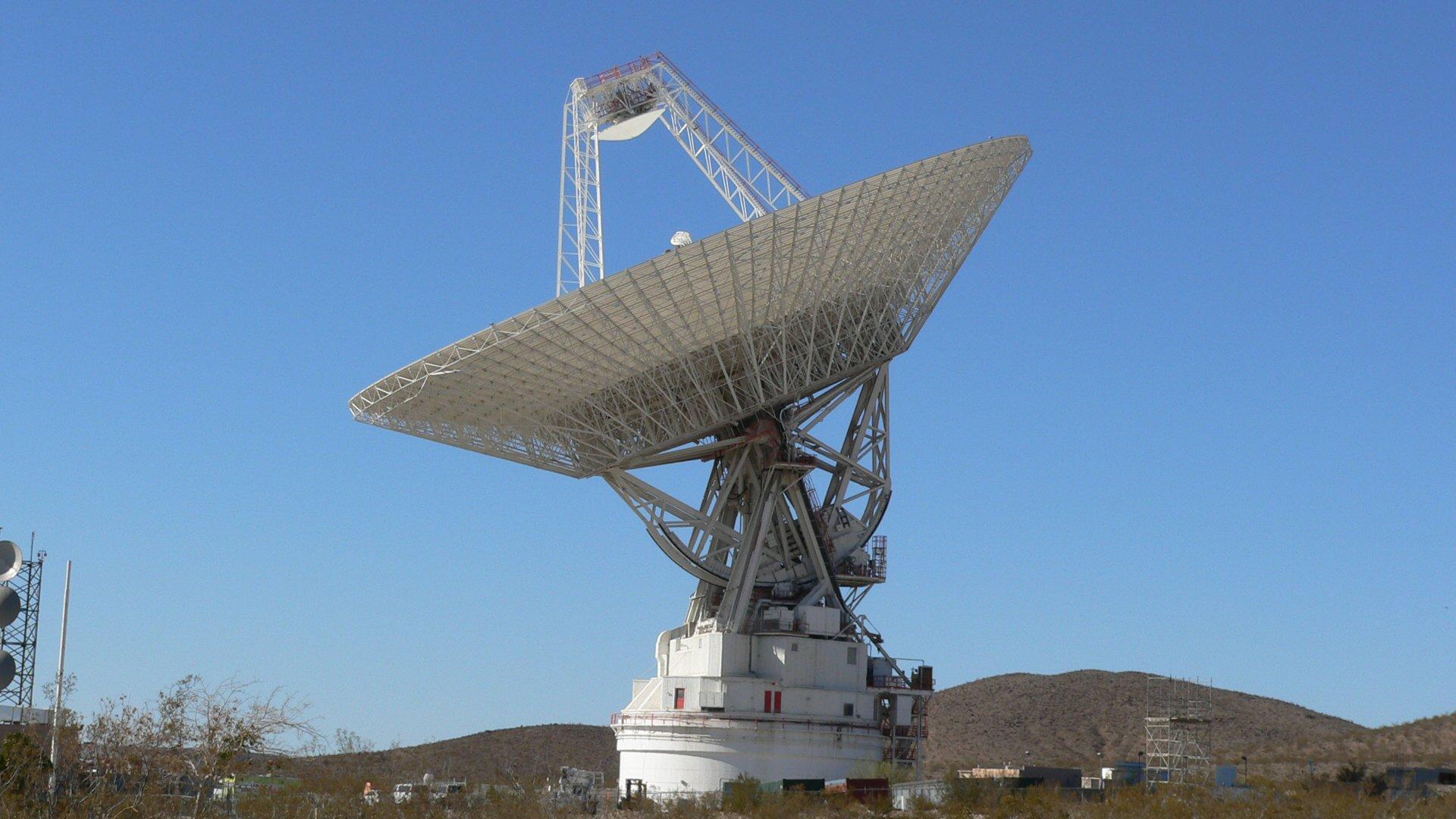 Волосы антенны для связи с космосом