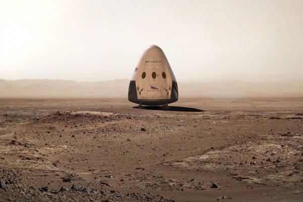 SpaceX отправит корабль на Марс