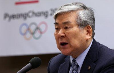 Глава оргкомитета зимних Олимпийских игр-2018 в Пхенчхане Ли Хи Бом