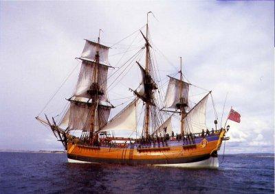 Исследователи нашли обломки легендарного корабля Кука «Индевор»