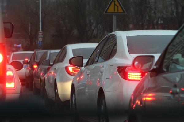 «Яндекс.Пробки»: В Уфе на трассе Р-240 образовался затор