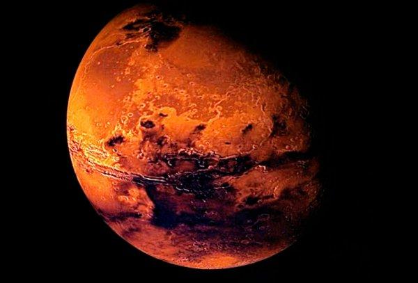 NASA: На Марсе найдены доказательства извергавшихся подо льдом древних вулканов