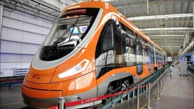В Китае запущен водородный трамвай