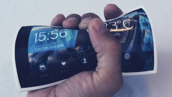 Китайская компания Interim презентовала первый гибкий смартфон