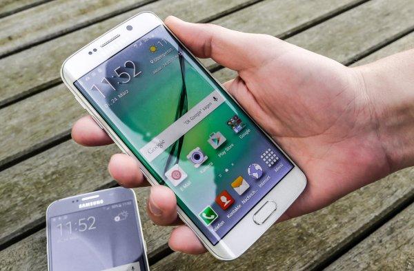Самым популярным смартфоном среди россиян назван Samsung Galaxy S7