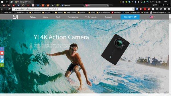 Экшен-камера Xiaomi Yi 4K позволит снимать видео в Ultra HD