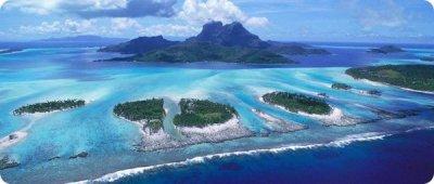 Ученые: В водах Тихого океана исчезли пять из Соломоновых островов