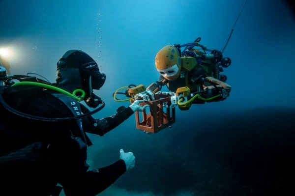 Ученые сделали робота-русалку для поиска затонувших сокровищ