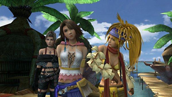 В Steam 12 мая появится Final Fantasy X/X-2 HD