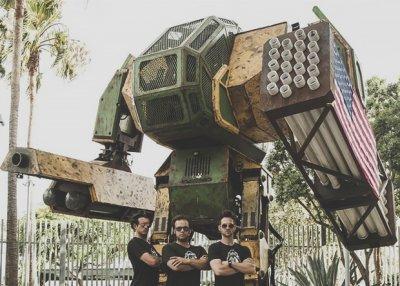 Американцы создадут международную лигу пилотируемых боевых роботов