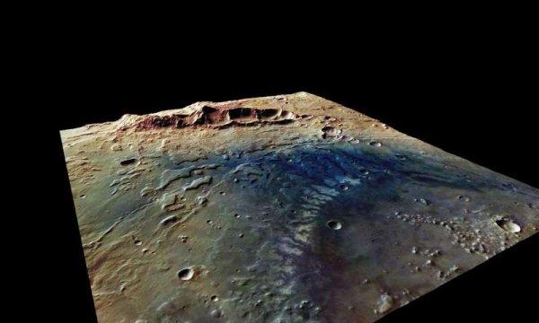 Ученые рассказали об исчезновении озер на Марсе