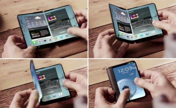Смартфон со складным экраном Samsung Galaxy X дебютирует в 2017 году