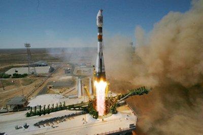 Роскосмос показал видео с бортовых камер ракеты «Союз»