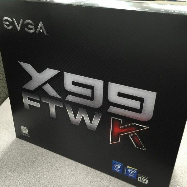 EVGA выпускает материнскую плату X99 FTW K