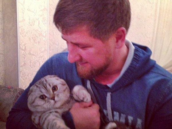 Кадыров прокомментировал высказывание ведущего НВО о пропаже его кота