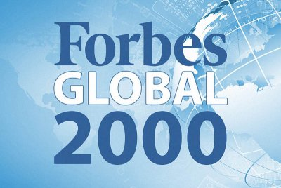 � ������ Forbes Global 2000 ������ 25 ���������� ��������