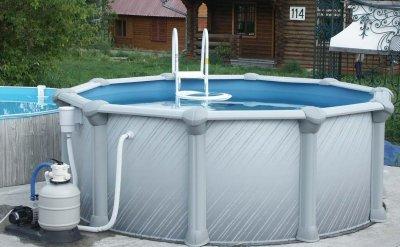 Выбираем временный бассейн для дачи