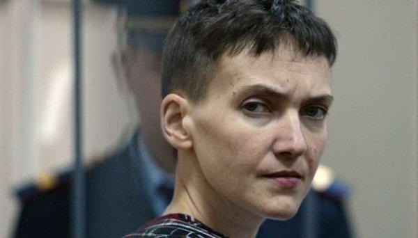 Савченко рассказала, какие слова хотела бы сказать Путину