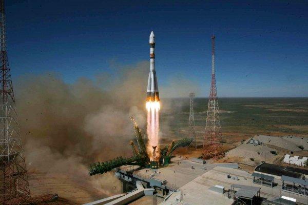 Разгонный блок «Фрегат» отделился от ракета-носителя «Союз»