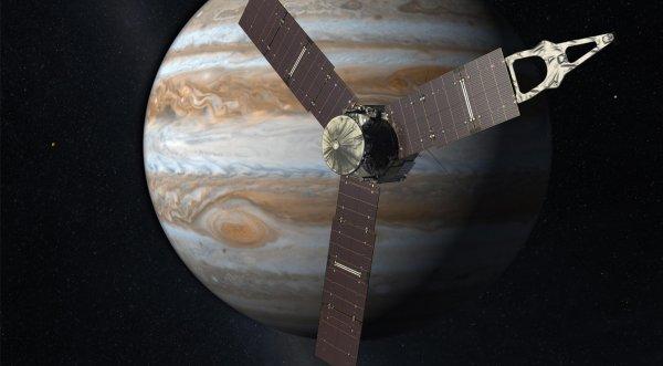 Зонд-путешественник «Junno» пересек гравитационную границу между Солнцем и Юпитером