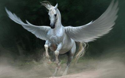 На Кубани нашли изображения крылатых лошадей