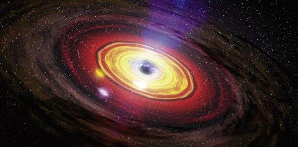 Ученые: «Красные гейзеры» черных дыр убивают галактики