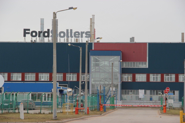 Завод Ford в Ленобласти уходит в простой уже в третий раз за лето