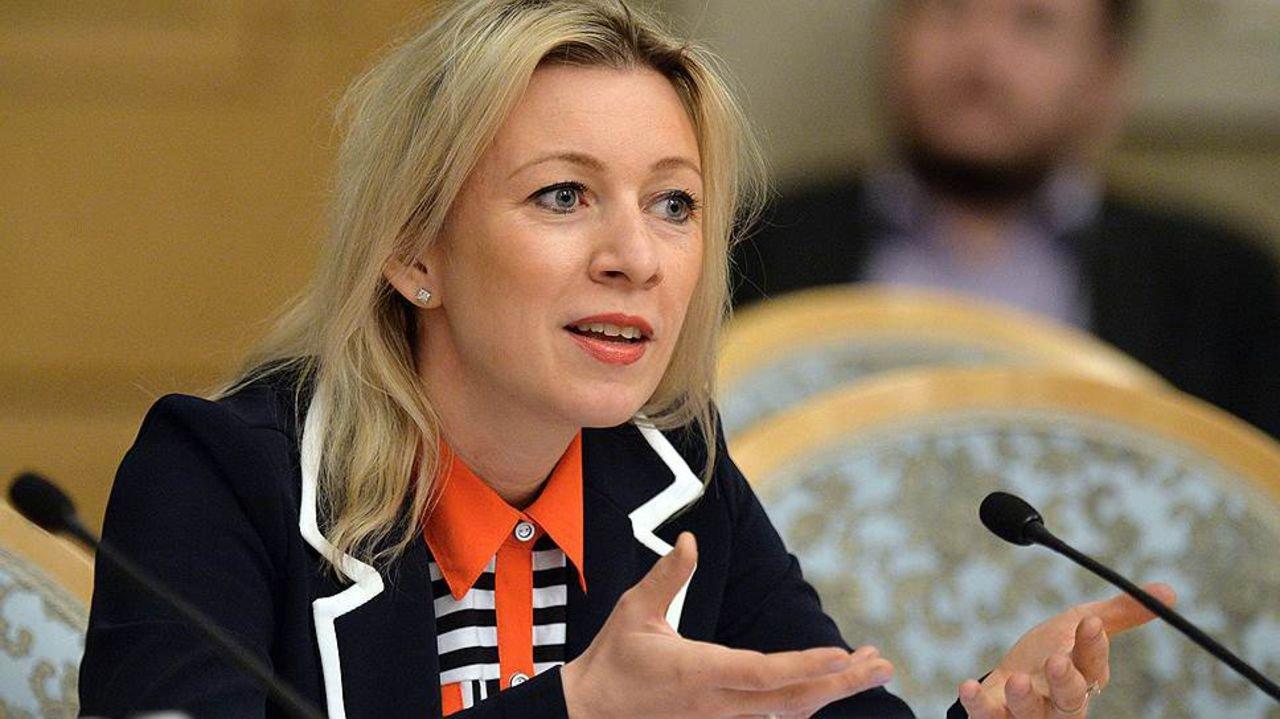 Ты на Донбассе был подонок? Америкос потерялся — Мария Захарова