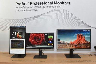 Asus представила свои новые мониторы на Computex 2016