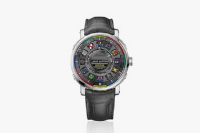Louis Vuitton выпустил наручные часы без стрелок