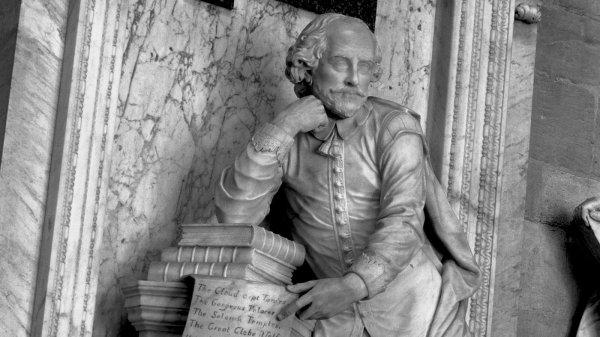 В Москве установят памятник Шекспиру