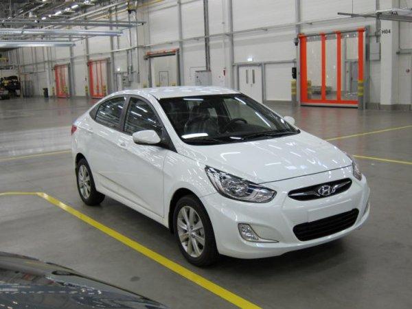 Hyundai Solaris назван самым продаваемым автомобилем с АКПП в России