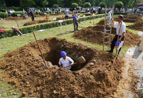 В Венгрии определили самых резвых могильщиков