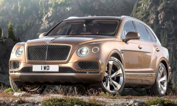 Первый внедорожник Bentley Bentayga был замечен на дорогах Киева