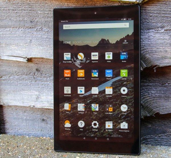 Amazon выпустила в продажу планшет Fire HD 10 в металлическом корпусе