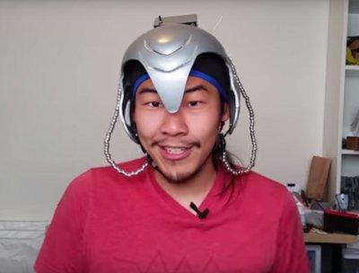 Американский изобретатель сконструировал шлем дистанционного управления людьми
