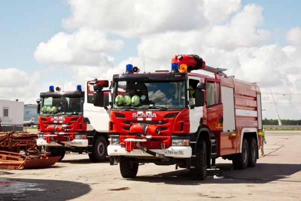 На заводе в Серпухово произошел пожар