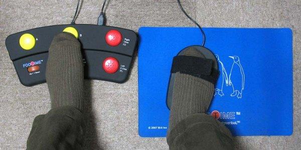Создана технология, позволяющая управлять ПК с помощью ног