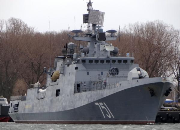 ВМФ получил новый фрегат «Адмирал Эссен»