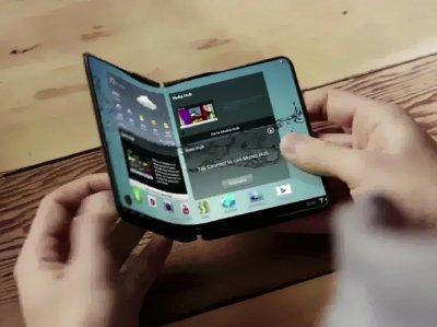 """Samsung возвращает моду на телефоны-""""раскладушки"""""""