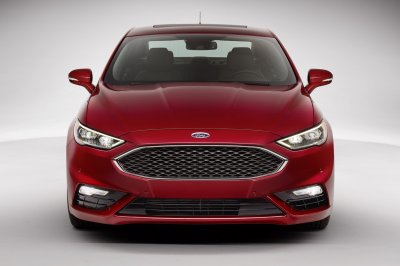 ����� �������� ��������� Ford Fusion Sport 2017 ���������� ����