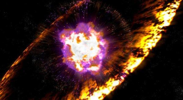 Астрофизики нашли связь между раком и взрывами сверхновых звезд