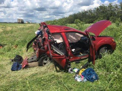 На трассе М4 «Дон» в ДТП погибла женщина и пострадали двое детей