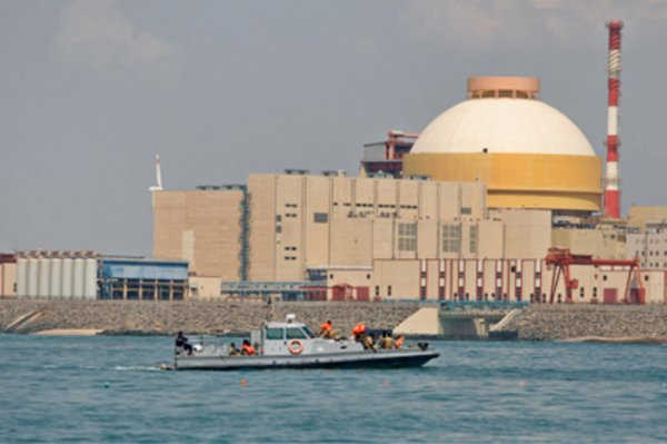 Компания Росатом построит в Индии новые АЭС
