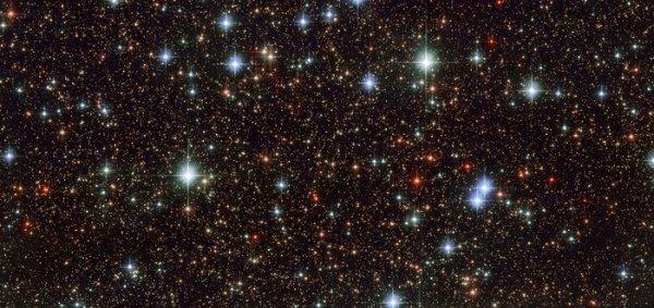 «Хаббл» сфотографировал молодые звезды из созвездия Стрельца