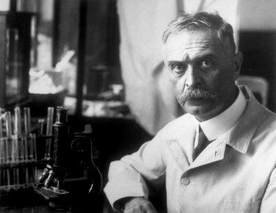 Google посвятил дудл химику Ландштейнеру