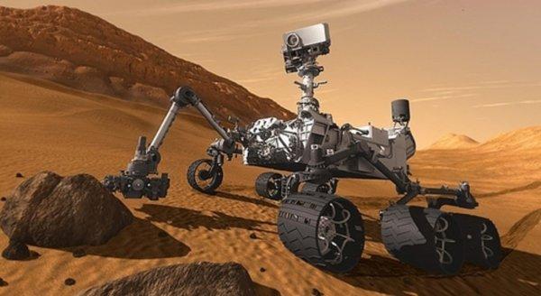 Марсоход Curiosity начал прямое восхождение к вершине горы Шарп