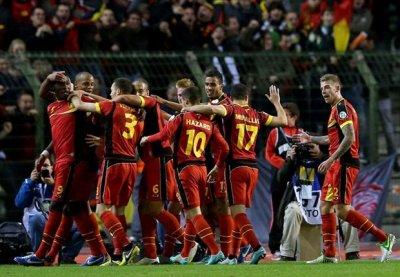 Бельгийцы разгромили Ирландцев на Евро-2016