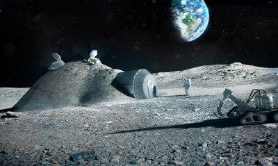 «Роскосмос» проектирует базу на Луне с размещением 12 человек